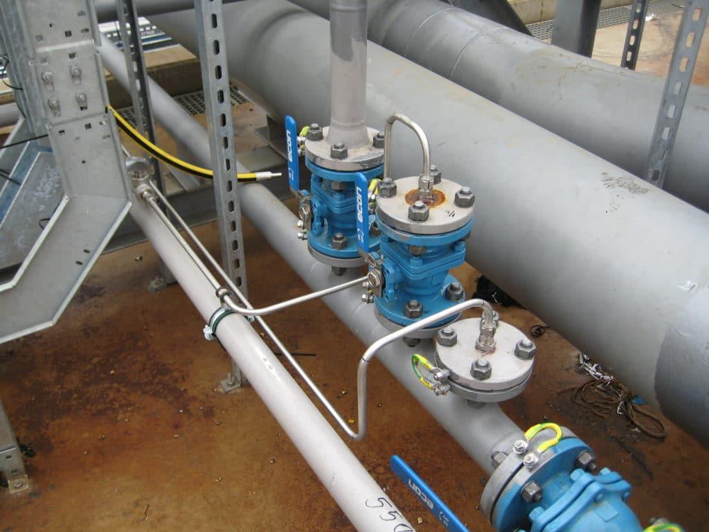 BAM-VOPAK Stikstofleidingwerk