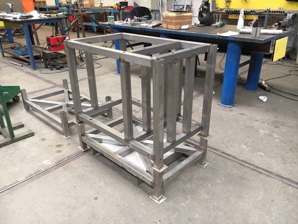 RVS Skid frames voor ERIKS/ASML