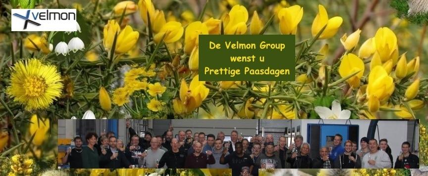 Velmon Group prettige paasdagen 15-4-2019